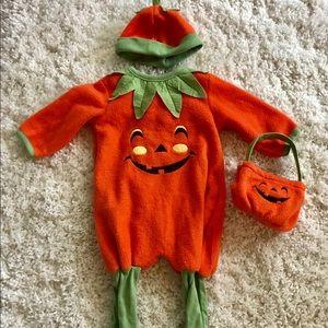 Other - Baby pumpkin costume 6-9 months